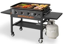 Portable Gas Grill Griddle Outdoor Cooking Station Flat Top