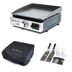 portable gas grill griddle