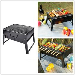 Portable Tabletop Charcoal Grill BBQ Camping Picnic Cooker A