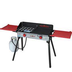 Camp Chef PRO60X Two-Burner Camp Stove with Professional SG3