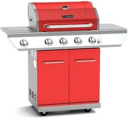Nexgrill Propane Gas BBQ Grill 4-Burner with Side Burner 60,