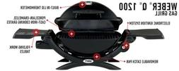 Weber Q Series 1200 Portable Gas Grill - NEW