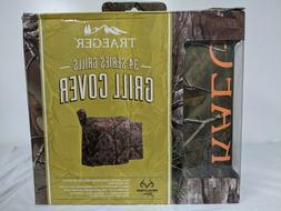 Traeger Realtree Camouflage Grill Cover 39 in. H x 22 in. W