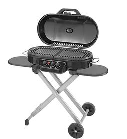 Coleman RoadTrip 285 Portable Stand-Up Propane Grill, Black