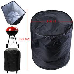 BBQ Grill Cover For Weber Smokey Joe Silver Serving Indoor O