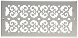 Decor Grates S614R-WH 6-Inch by 14-Inch Painted Return Air,