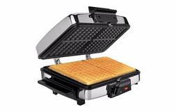 Sandwich and Waffle Maker Stainless Steel 3 in 1 Griddle Gri