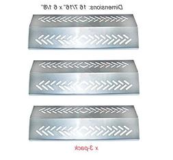 SH4641 Stainless Steel Heat Plate, Heat Shield Replacement f