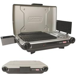 Small Camping Grill Gas Propane Portable Table Top Indoor BB