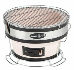 small compact yakatori charcoal grill backyard bbq