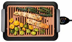 Gotham Steel Smokeless Electric Grill, Portable and Nonstick