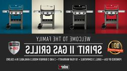 Weber Spirit II E-310 3-Burner Propane Gas Grill in BLACK, I