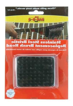 Stainless Bristle Replacement Grill Brush Head Standard Mr.