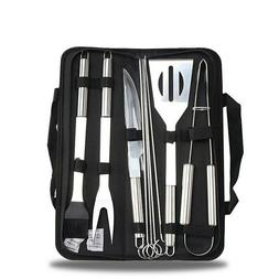 Stainless Steel BBQ Grill Tools Set Grilling Tool Camping Ba