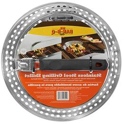 Mr. BBQ Stainless Steel Skillet with Removable Heat Resistan