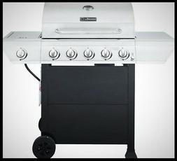 Stainless Steel Nexgrill Propane Gas Grill Side Burner Black