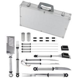 21 Piece Stainless Steel Tool Set with Aluminum Case