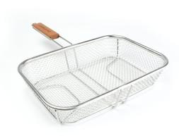 Charcoal Companion Stainless Wire Mesh Grilling Basket - CC3