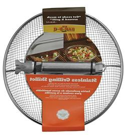 Mr. Bar-B-Q Stanless Wire Mesh Skillet and Handle