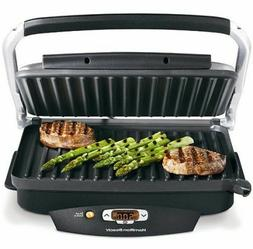 Hamilton Beach Steak Lovers 100 Sq Inch Searing Indoor Grill