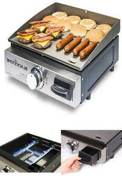 Blackstone Table Top Grill Griddle Portable Stainless Steel