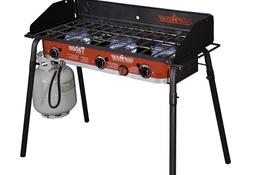 Camp Chef TB90LW Tahoe Deluxe 3 Burner Grill Black/red