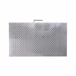 "Titan Diamond Plated Aluminum Grill Cover Fits 28"" Blackston"