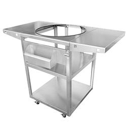 Onlyfire Universal Stainless Steel Table Top Grill Cart - Co
