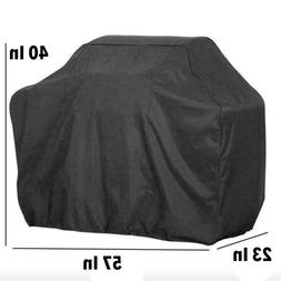 Weber BBQ Gas Grill Cover 7107 44x60 in Heavy Duty Waterproo