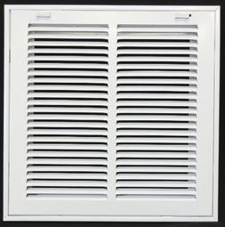 """12"""" X 12 Steel Return Air Filter Grille for 1"""" Filter - Remo"""