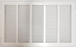 """25"""" X 20 Steel Return Air Filter Grille for 1"""" Filter - Remo"""